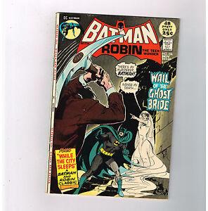"BATMAN #236 Grade 8.0 Bronze Age DC! ""The Wail of the Ghost Bride!!""!"