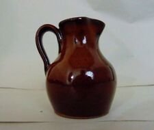 DON CRAIG JUGTOWN WARE SOUTHERN PRIMITIVE FOLK ART MINI PITCHER SHJ