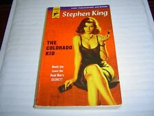 """VERY GOOD COND""  THE COLORADO KID by Stephen King (2005) PAPERBACK"