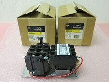 2 General Electric CR354AC3AB3, 30 Amp, 3 Poles, 3 Overloads without Enclosure