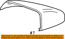 FORD OEM Edge Door Side Rear View-Mirror Cover Cap Trim Right FT4Z17D742BAPTM