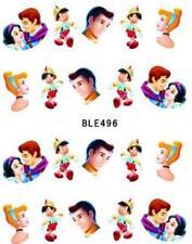 5 X Disney Cenicienta Príncipe calcomanías adhesivos para Arte en Uñas Manicura de transferencia de agua