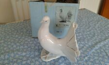 Vintage 1970s Lladro Fantail Dove Model #1016 Retired Piece-  Perfect Condition