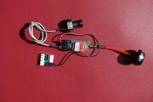 ImmersionRC 5,8 GHz 25mW VTX FPV Video, Audio Sender Set mit Kamera und Antenne