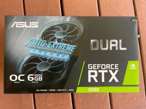 ASUS Dual NVIDIA GeForce RTX 2060 EVO OC Edition