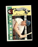 Irv Noren Hand Signed 1960 Topps Chicago Cubs Autograph