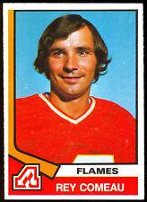 1974-75 OPC O PEE CHEE HOCKEY #296 REY COMEAU NM ATLANTA FLAMES CARD