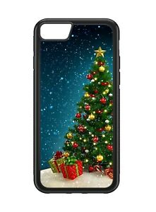Christmas Tree Xmas Rubber Phone Case Cover