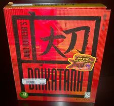 John Romero's Daikatana, EIDOS & Ion Storm (PC, 2000) Box & Contents No Game CD
