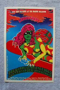 Canned Hert Tour poster 1968 ____