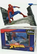 Diamond Select Toys Marvel Comic Gallery Spider-Man Webbing PVC Diorama NIB