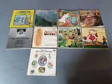 """Sound Of Music Oklahoma Oliver Evita The King & I Famous Five 9 Musicals 12"""" LP"""
