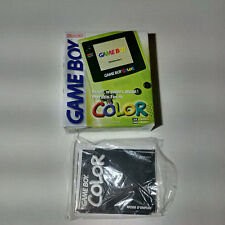 Nintendo Game Boy Color Kiwi Green With Original Box! Must See!