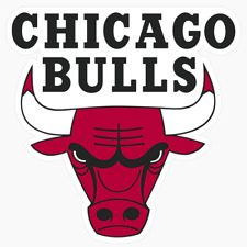 Chicago Bulls Logo NBA DieCut Vinyl Decal Sticker Buy 1 Get 2 FREE