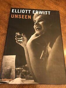 UNSEEN By Elliott Erwitt - Hardcover Signed