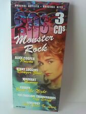 80s Monster Rock 3 CD NEW Quiet Riot Alice Cooper Judas Priest Romantics Hooters