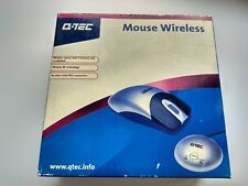 Vintage Q-TEC Mouse Wireless BRAND NEW!