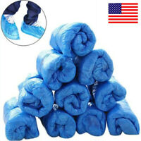 US! 100 Pcs Disposable Replacement Shoes Cover For Clean Indoor Room Floor