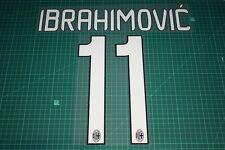 AC Milan 12/13 #11 IBRAHIMOVIC Homekit Nameset Printing