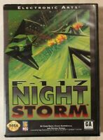 F-117 Night Storm SEGA Genesis / Mega Drive 1993 Flight Simulation EA w/ Manual