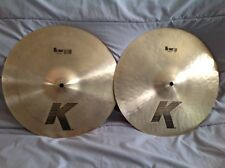 "Zildjian 14"" ""K"" Hi Hat Cymbals - FANTASTIC CONDITION!!!"
