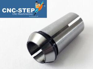 Spannzange 10 mm aus Federstahl für Fräsmotoren Suhner, AMB (Kress) f. CNC Fräse