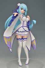 Konosuba Aqua Limited Premium Figure 1/7 Emilia Ver SEGA LPM Re zero NEW IN BOX