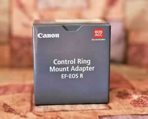 (New) Canon CONTROL RING Mount Adapter EF-EOS R (USA Model) For R5, R6, RP, R