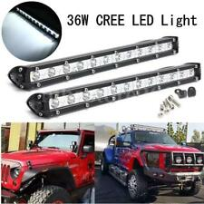 2pcs14'' 36W LED Spot Light Bar Work Driving Offroad Lamp For ATV SUV JEEP Trunk