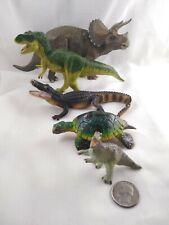 Safari LTD Papo Dinosaur Reptile figure Lot Of 5 Sea Turtle Tyrannosaurus Gator