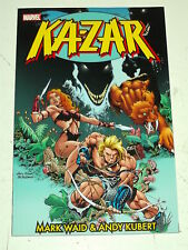 KA-ZAR VOL 1 Mark Waid ANDY KUBERT Marvel Graphic Novel 9780785143536