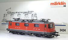 MÄRKLIN 3434 SBB Re 4/4 II 11162 Rot Ellok Ep IV ++ Delta