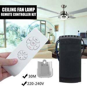 Ceiling Fan Lamp Remote Controller Kit Timing Wireless Intelligent Switch