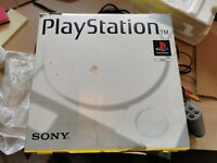 Sony Playstation 1 PS1 Original Console - Boxed Audiophile Version - UK PAL
