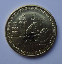 Malta 5 euro 2014 100th Anniversary WW1 (UNC)