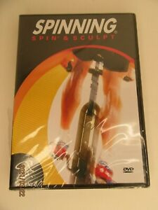 NEW Spinning Spin & Sculpt Indoor Cycling DVD  Sealed