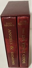 Da Vinci Code and Angels & Demons Hardcover Box Set By Dan Brown - Pre-Owned