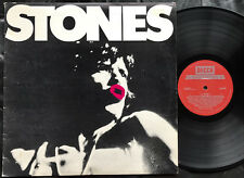 THE ROLLING STONES - STONES  Ultrarare1976 Aussie only LP Release w/Poster! EX+