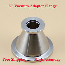 KF-25 NW-25 to KF-16 NW-16 SS 304 Precise Vacuum Adapter Flange Conical Reducer