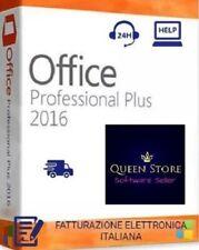 Microsoft Office 2016 Professional Plus Pro Key 32/64 Bit - Licenza Esd Fattura
