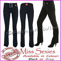 Girls Black Grey Navy School Trousers Miss Sexies Miss Chief Size 4-16