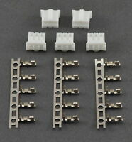 5 Pack: (5) E-Flite Blade 130x / UMX Connectors For LiPo Battery / Adapters