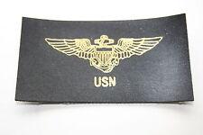 U.S. NAVY USN PILOT'S WING FLIGHT JACKET NAME PATCH TAG