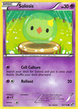 Pokemon Card ( 2x ) from BLACK & WHITE Set SOLOSIS 55/114 Psychic Type COMMON NM