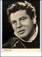 Starfoto Porträt Kino Fernsehen Cinema Film Schauspieler 1961 WALTHER REYER Foto
