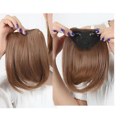 """Claw On Short 12"""" Ponytail Clip In Hair Extensions Layred Brown Blonde Black K83"""