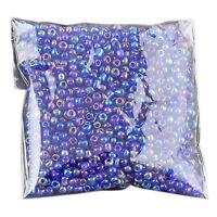 2X( 1200 Stueck 2mm koenigsblau runden tschechischen Glas Seed Spacer lose M0ME