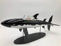 tintin figurine le sous marin requin 43 cm  images mythiques certificat boite