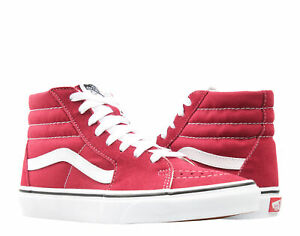 Vans Sk8-Hi Rumba Red/True White Classic High Top Sneakers VN0A38GEVG4
