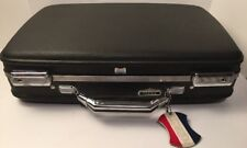"Vintage American Tourister ""Tiara"" Hard Case Suitcase / Attache BLACK -18 inches"
